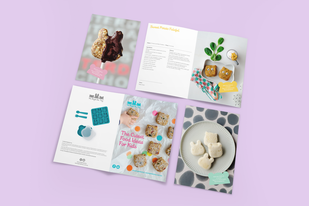 Cutest Recipe Ideas for Kids - A5 Booklet