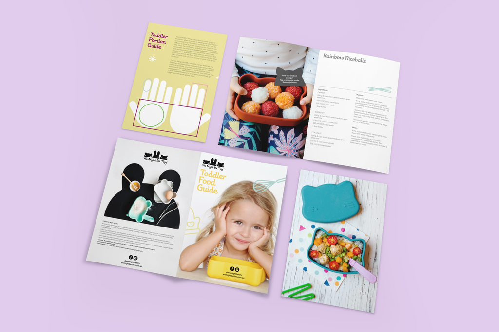 Toddler Food Guide - A5 Booklet
