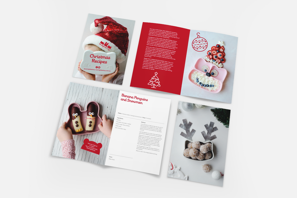 Christmas Recipes - A5 Booklet