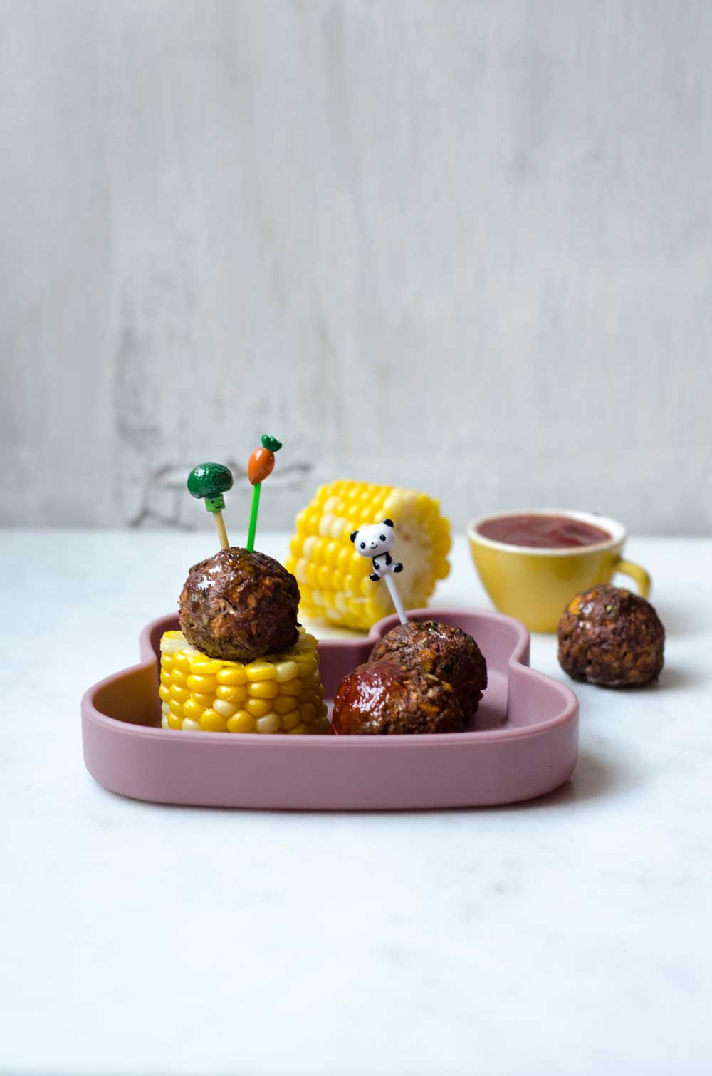 Pumpkin Meatballs from We Might Be Tiny