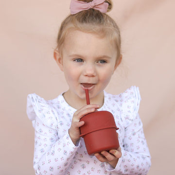 Silicone sippy lid for grip cup