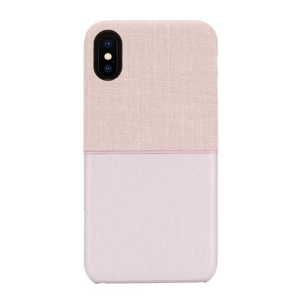Incase Textured Snap Case for iPhone X - Rose Gold