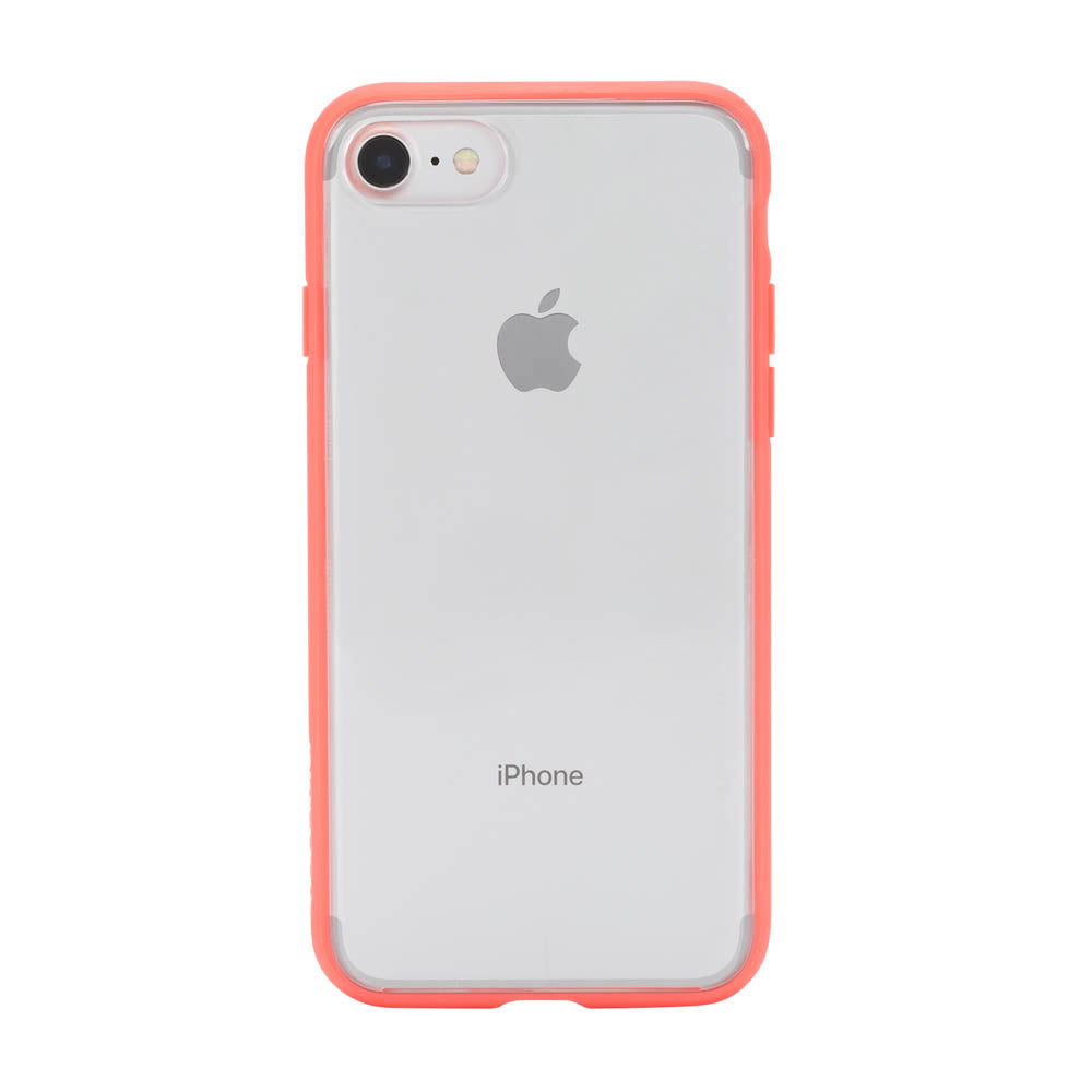Incase Pop Case (Clear) for iPhone 8 & iPhone 7 - Coral Clear