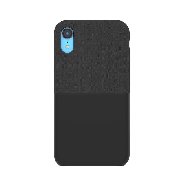 Textured Snap Case for iPhone XR - Black