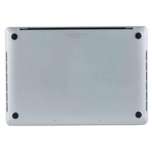 Clear MacBook Hardshell Case with rubber feet