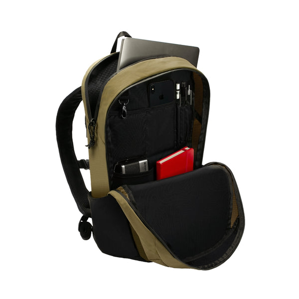 Sand Nylon Ripstop bag with mesh side pockets
