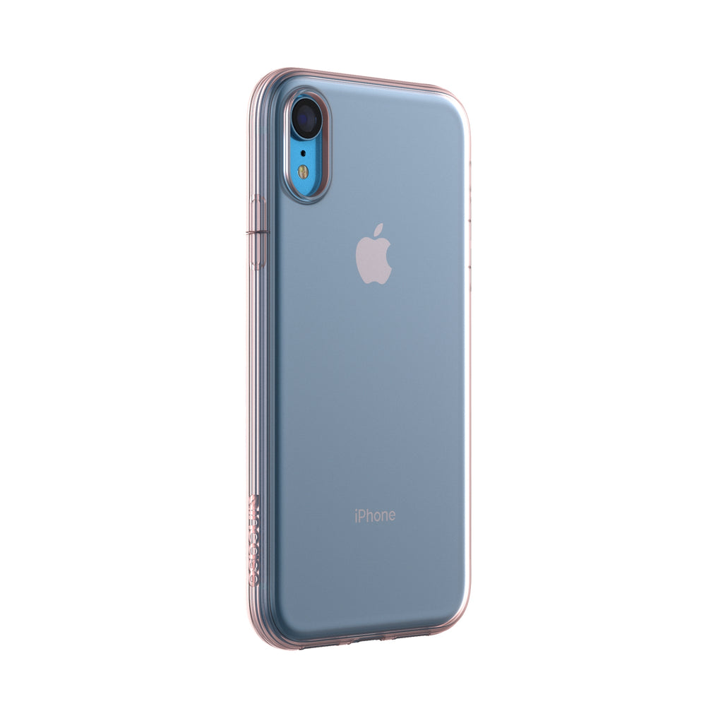 Protective Clear Cover for iPhone XR - Rose Gold