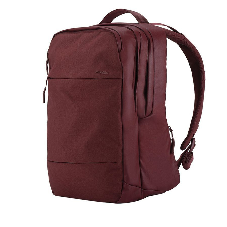 Incase City Backpack - Deep Red