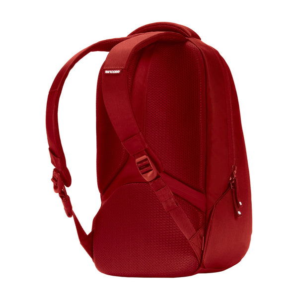 Red Nylon Bag with padded back plate