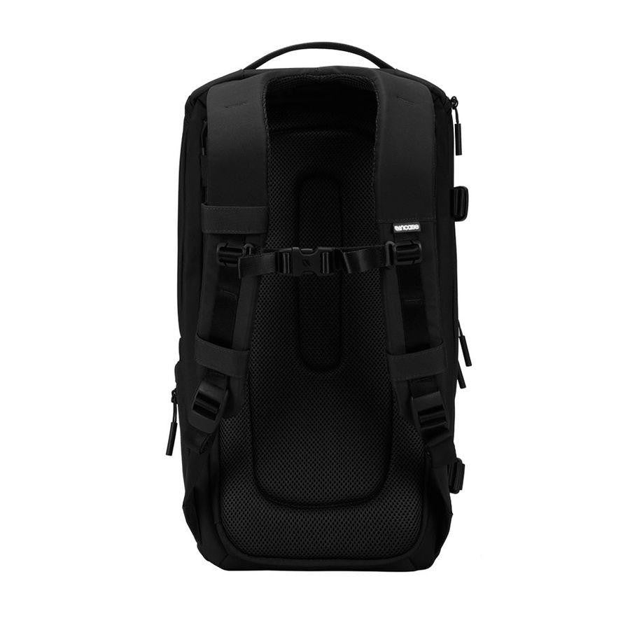 Black DSLR Pro camera bag with padded back plate and chest strap