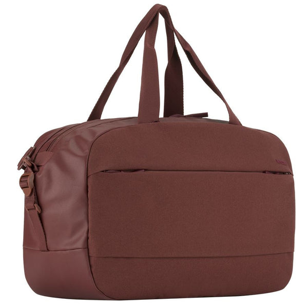 City Duffel - Deep Red