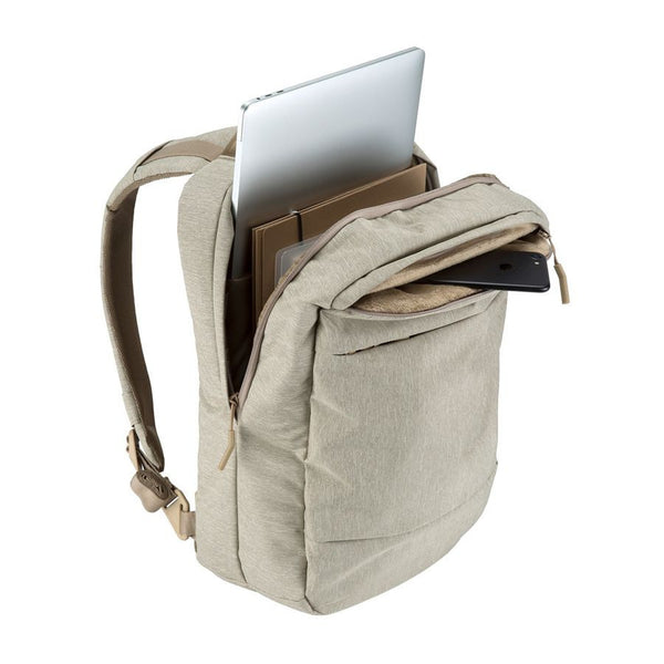 Incase City Compact Backpack - Heather Khaki