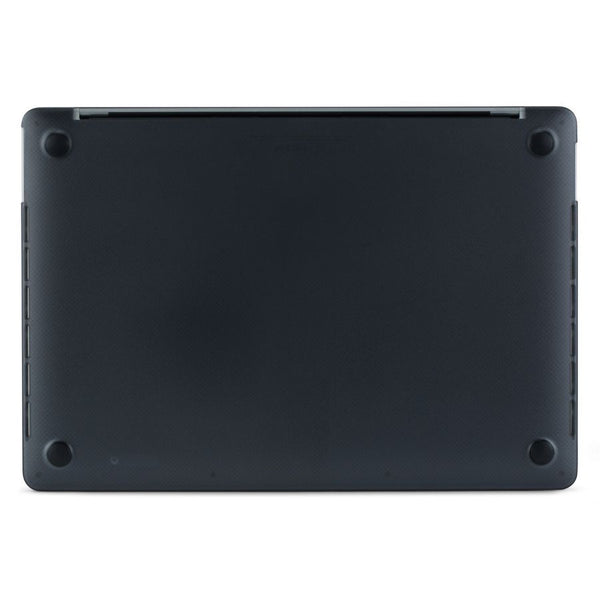 Black MacBook Hardshell Case with rubber feet