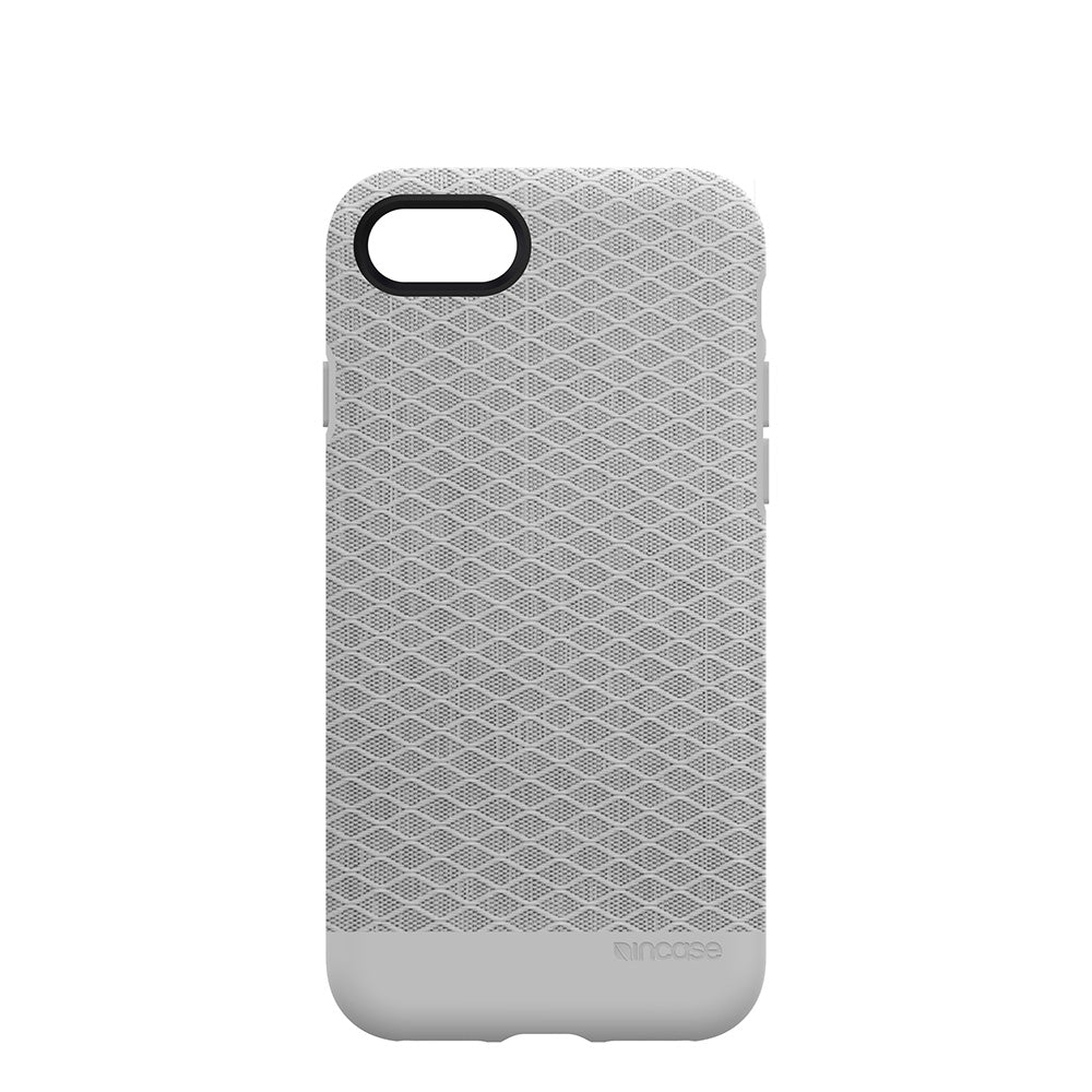 Incase Textured Snap For iPhone 8 & iPhone 7 - Grey Diamond Ripstop