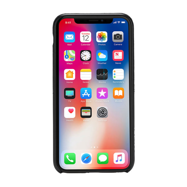 Incase Textured Snap Case For iPhone X - Black