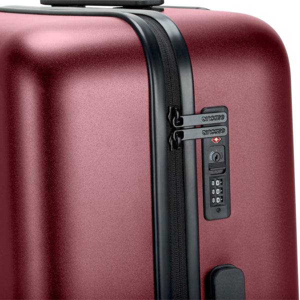 Incase Novi 4 Wheel Hubless Travel Roller 27 - Deep Red