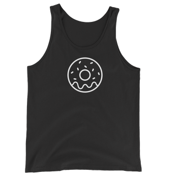 MINIMALIST BLACK DONUT TANK Cottondish