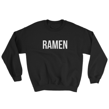 MINIMALIST BLACK RAMEN SWEATER Cottondish