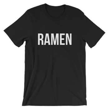 MINIMALIST BLACK RAMEN TEE Cottondish