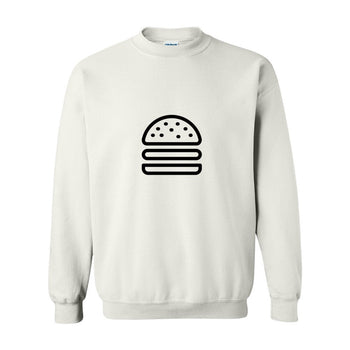 MINIMALIST BURGER SWEATER COTTONDISH