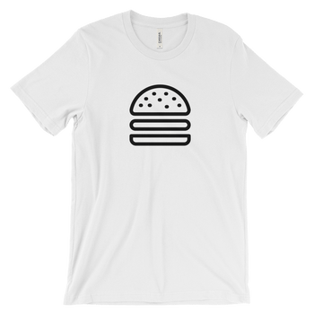 MINIMALIST BURGER TEE COTTONDISH