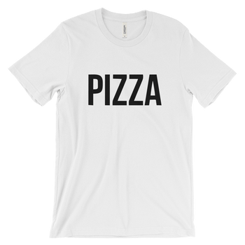 MINIMALIST PIZZA TEE COTTONDISH