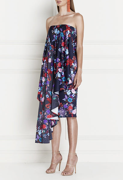 Nyxie Floral Contrast Dress