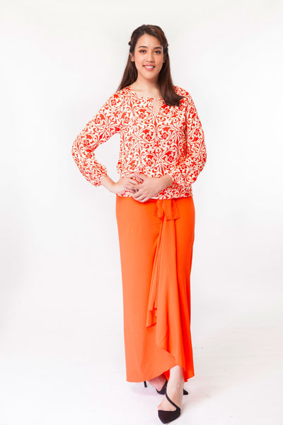 Erika Skirt in Orange