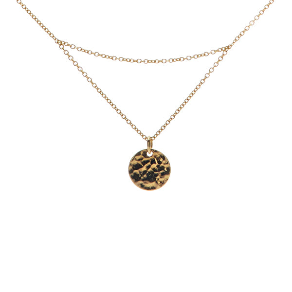 14K GOLD MATAHARI NECKLACE