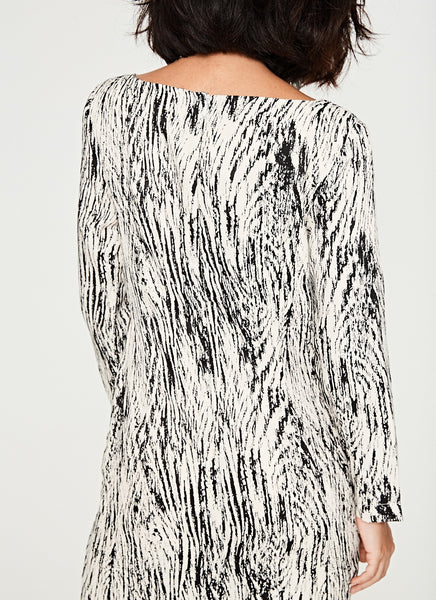 Zebra Long Dress