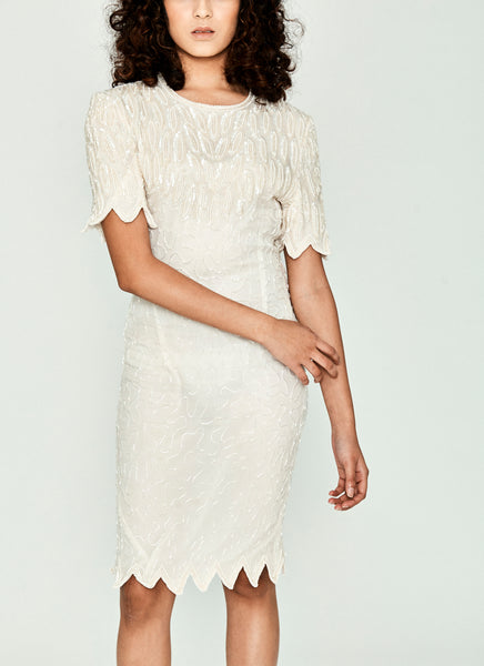 White Lily Dress by Laurence Kazaar