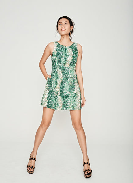 Forest Graphic Dress