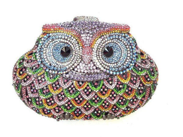 Novelty Clutches - Owly Woly (Orange)