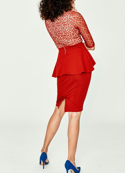Dauzea Dress (Red)