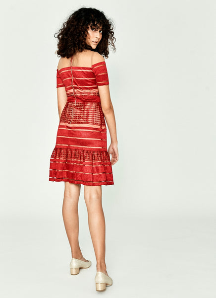 Derniabel Dress (Red)