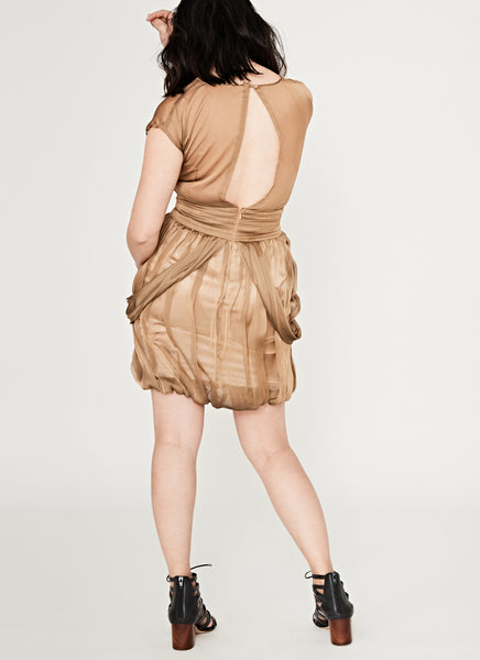 NM Bronze Cocktail Dress