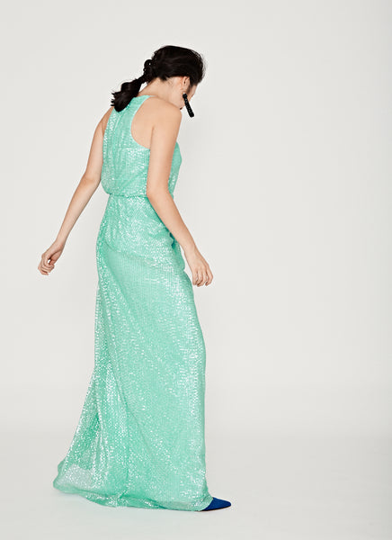 Spearmint Gown