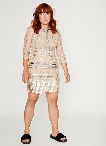 Glitzy Cocktail Dress