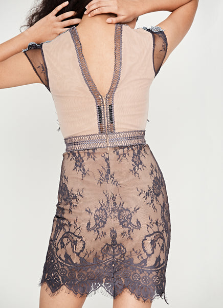 Lace Sequence Dress