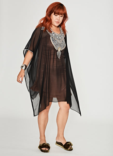 NM Embellished Short Kaftan