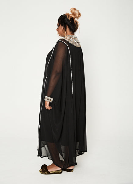 NM Black Moroccan Kaftan