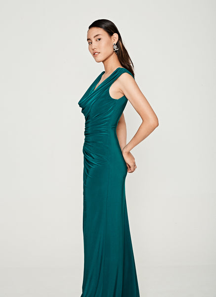 Grecian Ruched Gown