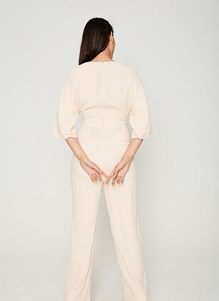 Titania Jumpsuit in Cream