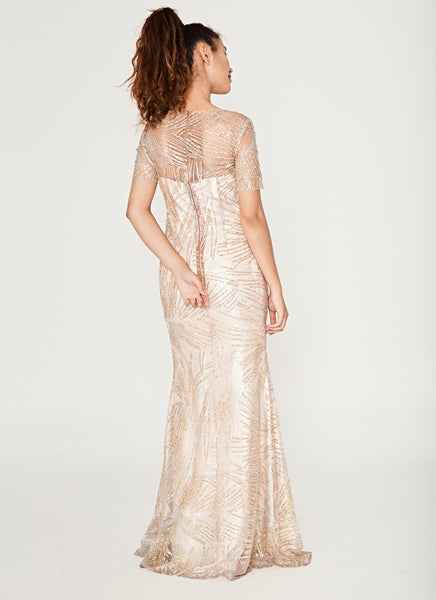 Glittered Gown