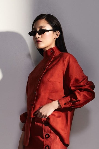 Clara Top in Red