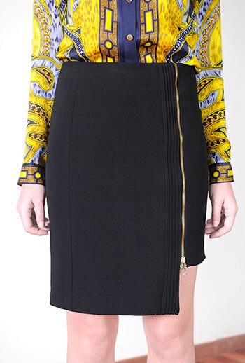 Gonna Donna Tessuto Skirt