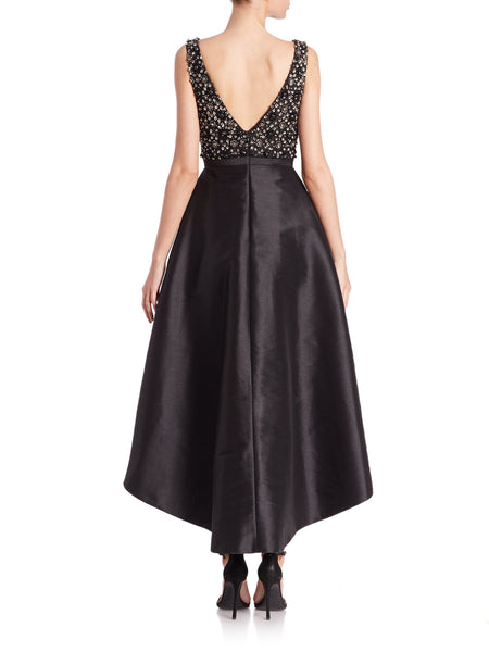 Black Reveal Gown