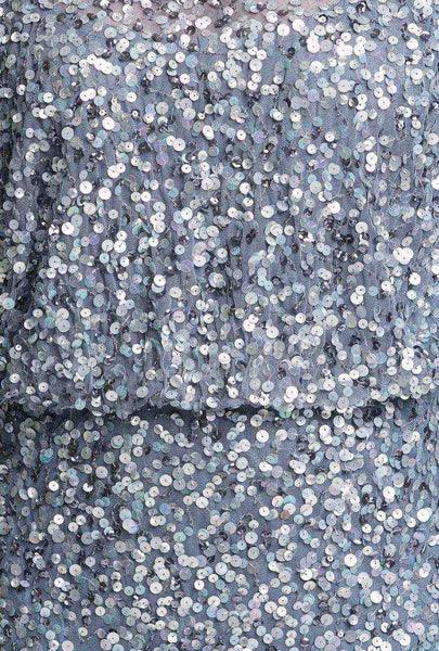 Grey Sequin Showstopper Dress
