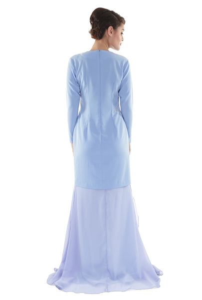 NM Powder Blue Kurung Modern