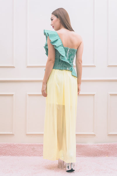 Yellow Long Skirt